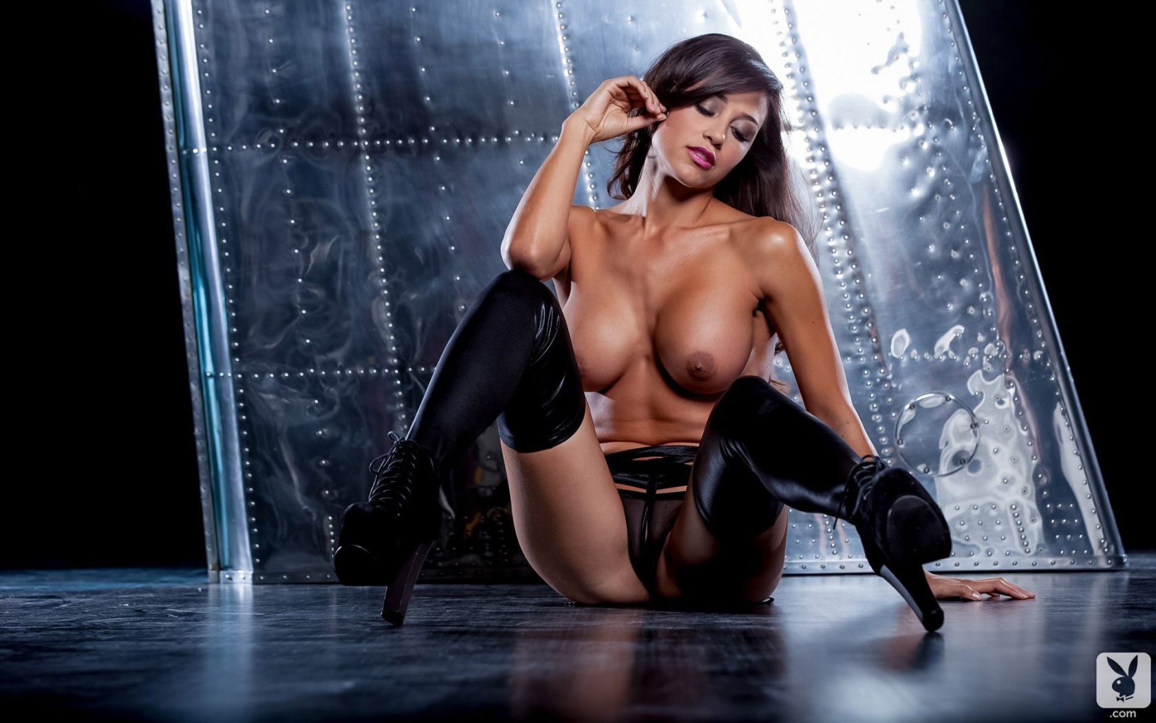 Ana Cheri Nudes ana cheri sexy brunette playmate with a big rack exposes her