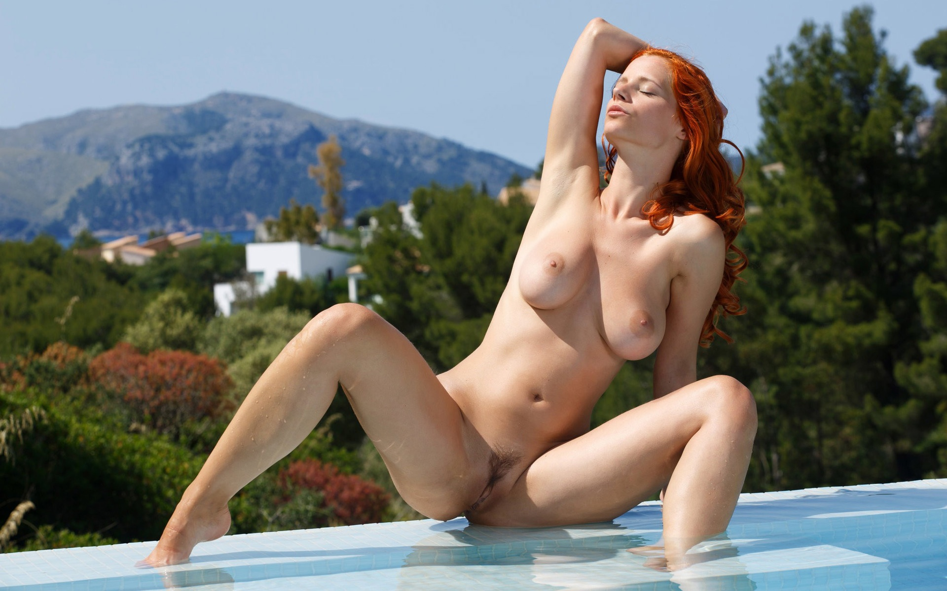 Consider, that busty redhead ariel nude consider, that