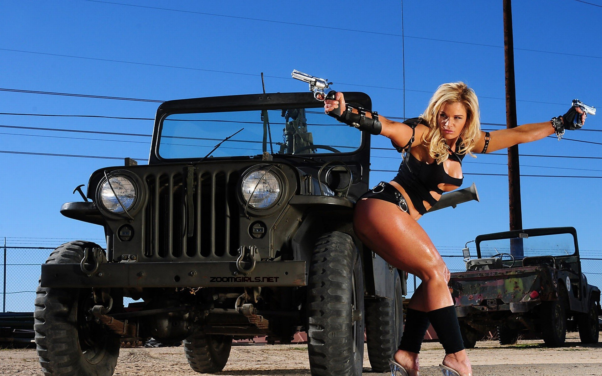 Babes with guns and cars photo from actiongirls.com, Sexy ...
