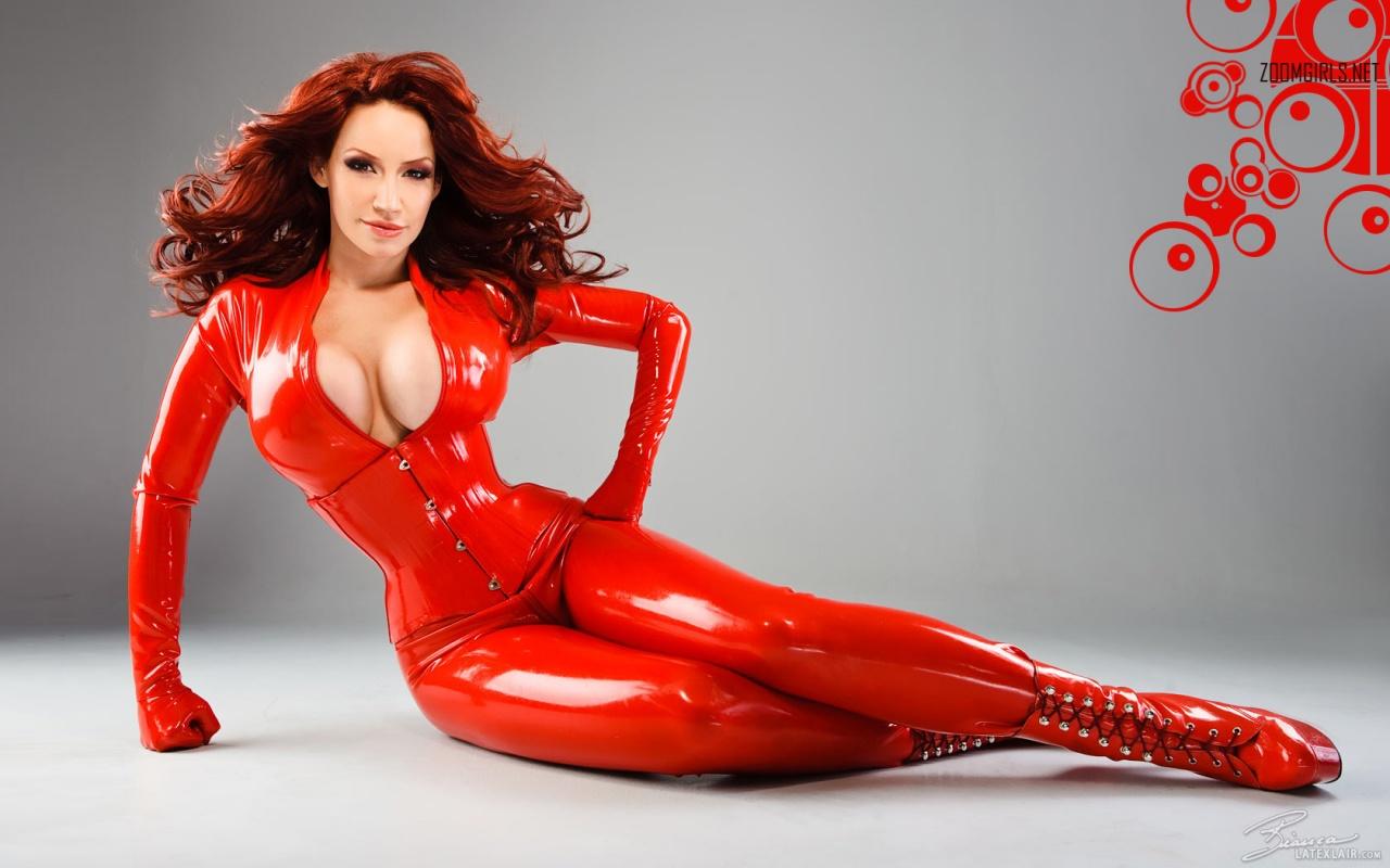 latex nude models Full body