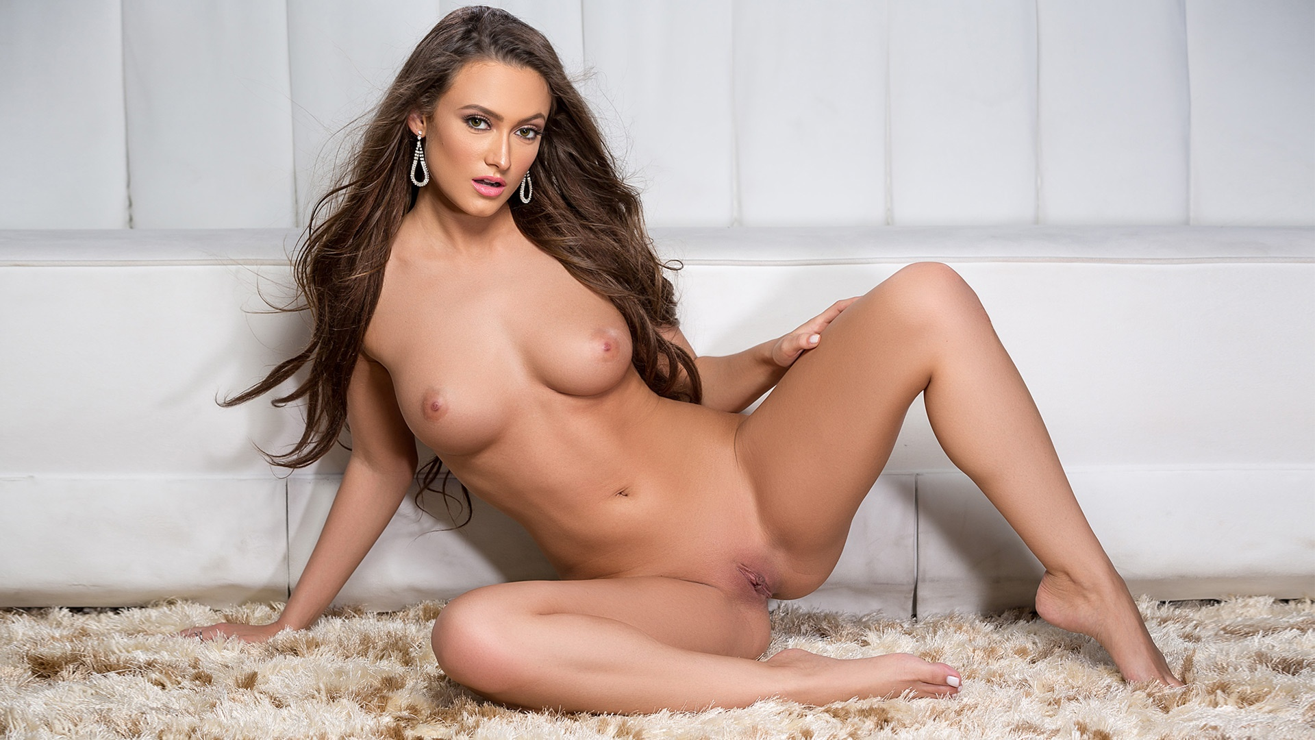 Deanna Greene hot naked shaved pussy playmate full frontal nude erotic ...