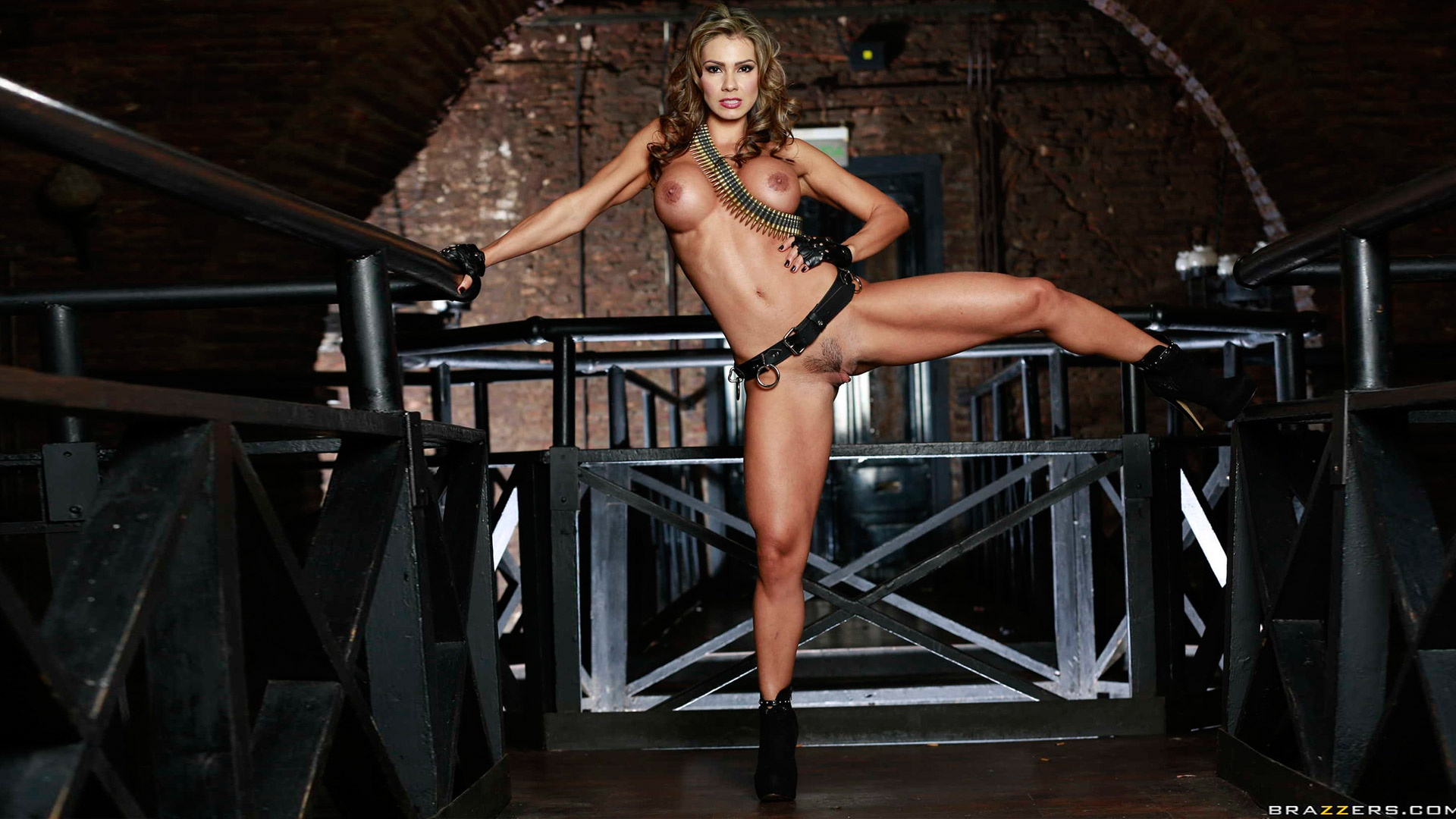 Esperanza Gomez fit porn star full frontal warrior soldier ...