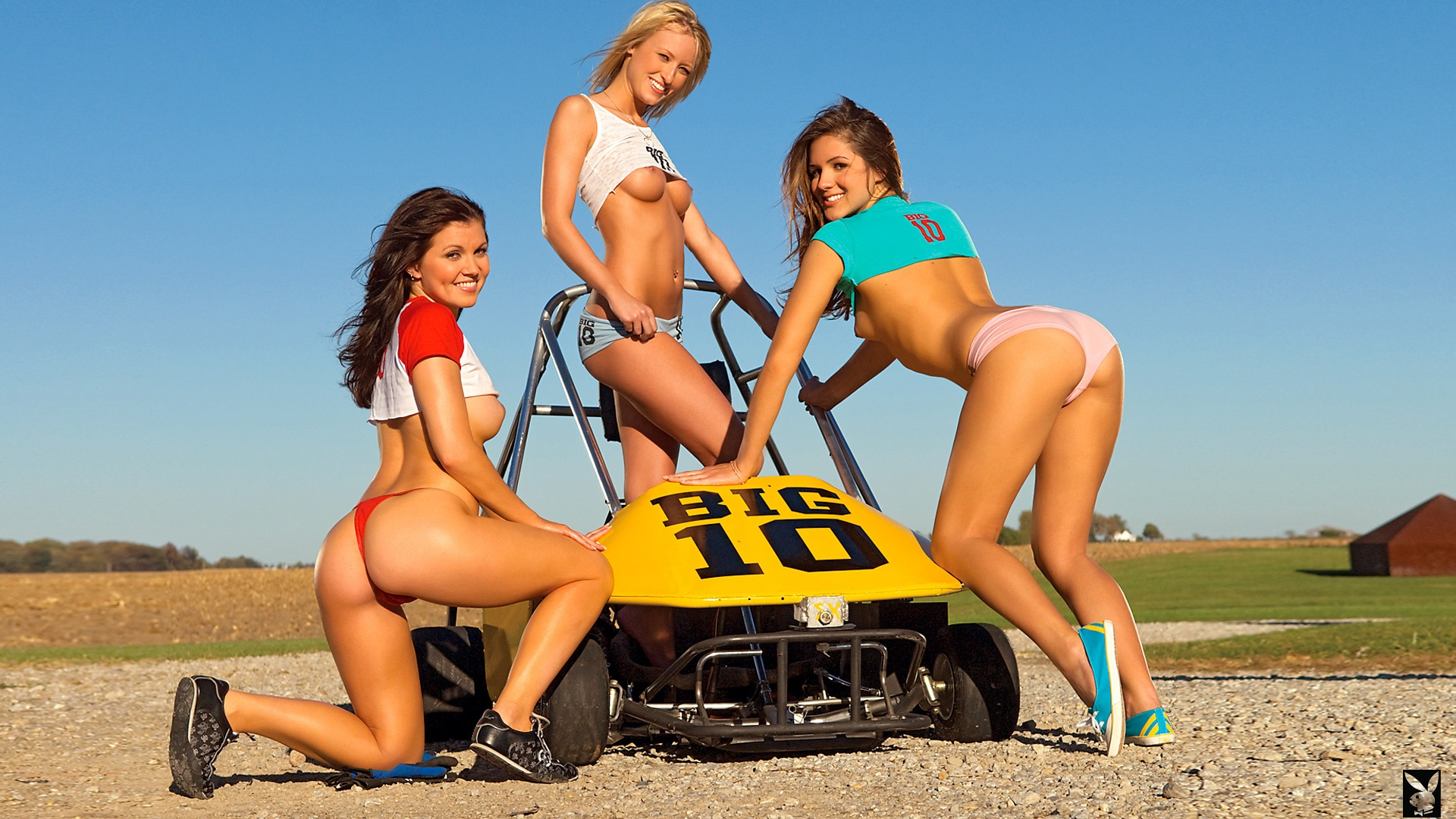 Refuse. think, nude girls on go kart
