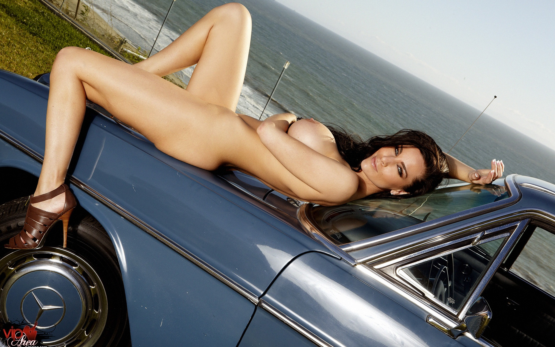 Эротика и автомобили 24 фотография
