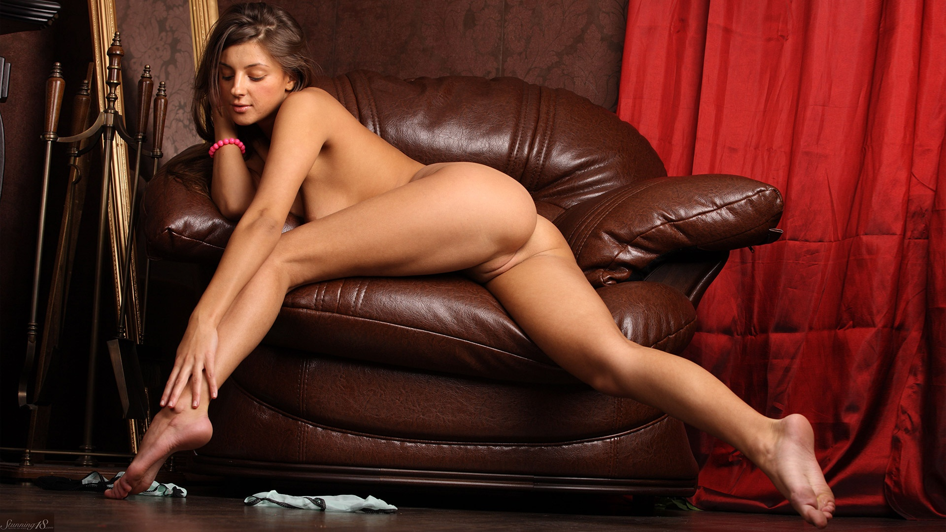 Curious topic naked pussy leather chair not meant