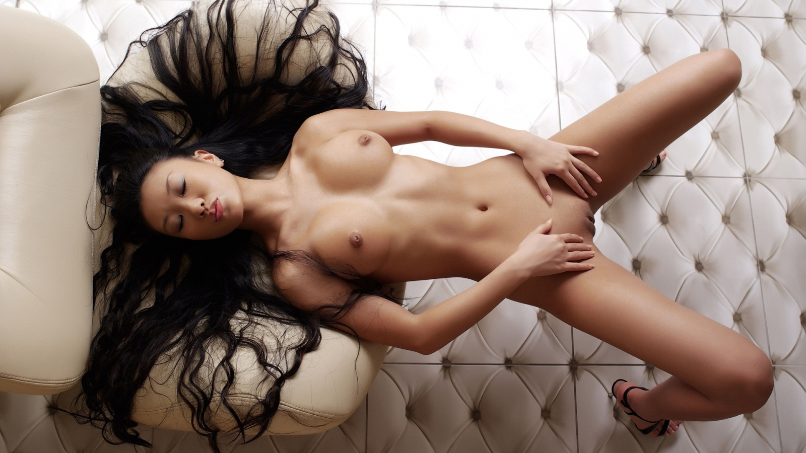 Nude asian beauty shaved pussy porn photo sexy hot desktop ...