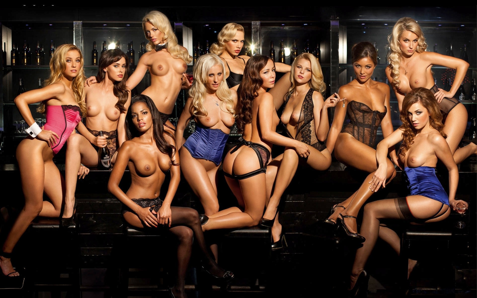 Playboy Playmates group models photo centerfold hd and ...