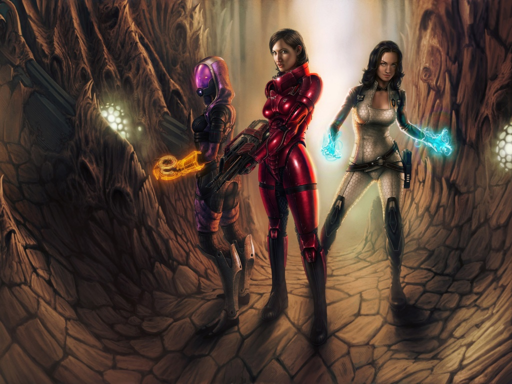 Erotic fi sci wallpaper