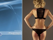 Abigail Clancy sexy back lingerie photo wallpaper