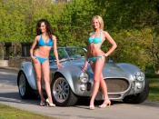 Ac Cobra and hot babes wallpaper