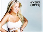Angel Faith sexy smile wallpapers