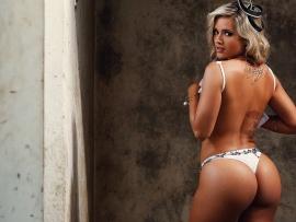 Hot wallpaper girls bikini blonde sexy