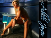 Ashlee James sexy bikini hot blonde model in the club