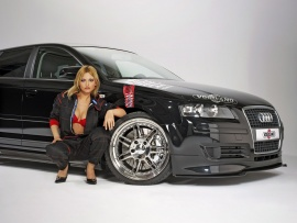 Audi A3 & Hot Babe (click to view)