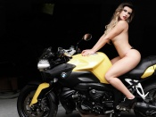 babi rossi, curvy babe, brazil, topless, sexy model, barbara rossi, girls and bikes, hot ass, babes and motorcycles