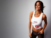 Brooke Burke sexy shirt wallpaper