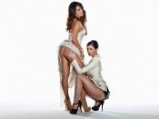Carlotta Champagne and Kimberly Kisselovich hot pose