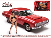 Cassia Wallton and muscle car wallpaper