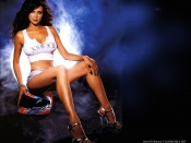 Catherine Bell sexy long legs photo wallpaper