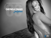 Cheynelle Fraser sexy black and white