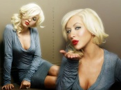 Christina Aguilera wallpapers, sexy blonde, photo, wallpaper, sexy mom, hot babe, musician, artist, beauty