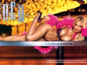 Coco T. sexy Wallpaper, hot gogo girl style wallpaper, vegas colours coco t wallpaper