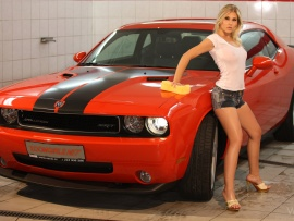 challenger Naked girls and dodge