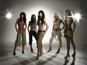 Girls Aloud sexy promo shoot