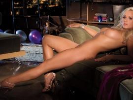 Playmates knox nude heather Playboy