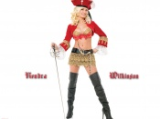 Holly Madison sexy wallpaper, sexy pirate clothes, wallpaper, sexy model, hot babe, woman, playmate wallpaper, the masion bunny