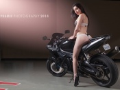Hot ass brunette,babe and bike, sexy model, lingerie, round ass, yamaha r6, hot babe, girl and bike, superbike