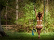Hot ass on a swing