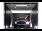 Hot Babe and Bmw 6 series tuning wallpaper