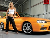 cars and babes wallpapers, sexy model and hot muscle car wallpaper, sexy cars wallpapers