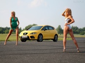 Hot Girls and Seat Leon Fr sexy wallpaper