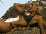 Ines Sainz wallpaper, lingerie model, sexy girl, beauty, swimsuit photo