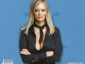 Jenna Jameson hot suit wallpaper