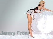 Jenny Frost, sexy legs wallpaper, model, hot babe, beauty, sexy girl