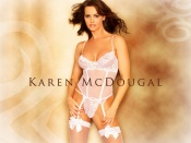 Karen McDougal sexy photo wallpaper