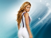 Kat DeLuna sexy back wallpaper