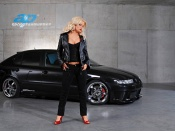 Katharina Kuhlmann wallpaper, babes and cars wallpaper, Seat Leon wallpaper, tuning wallpapers