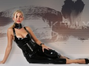 Kelly Kaye latex dress wallpaper, Kelly Kay sexy wallpaper