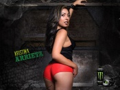 Kristina Arrieta sexy Monster Energy Drink Girl