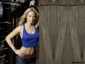 Laura Vandervoort, sexy tummy wallpaper, actress, blonde beauty, sexy girl, superman
