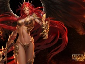 League of Angels, sexy artwork, drawing, game heroes, sexy pc games, erotic drawing, busty babe