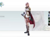 Lightning Wallpaper from final fantasy xii 13 game