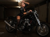 Liyah and Harley Davidson