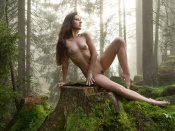 Lorena Garcia naked fairy in the woods
