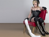 Madonna Boxing outfit wallpaper