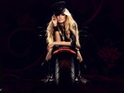 Marisa Miller and a hot chopper wallpaper, sexy model, hot babe, bike photo, motorcycle and babes, harley davidson, bikes and babes wallpapers